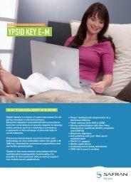 ypsID Key e-M brochure - Morpho