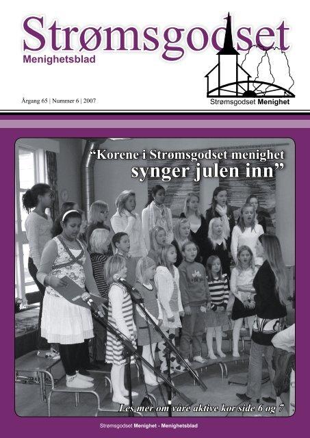 Nr 6 desember 2007 - Den norske kirke i Drammen