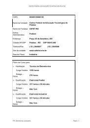 PPC_Eletrotecnica_subsequente - Instituto Federal Sul-rio-grandense
