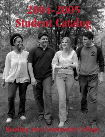 Whole Catalog - Reading Area Community College