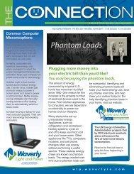 Phantom Loads - Waverly Light and Power