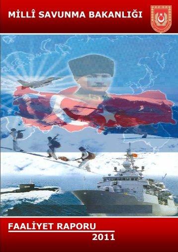 MSB 2011 Yılı Faaliyet Raporu - Türk Savunma Sanayi Haber