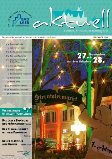 Bad Laer + Bad Iburg neu prädikatisiert Seite 2 ... - GROTEVERLAG