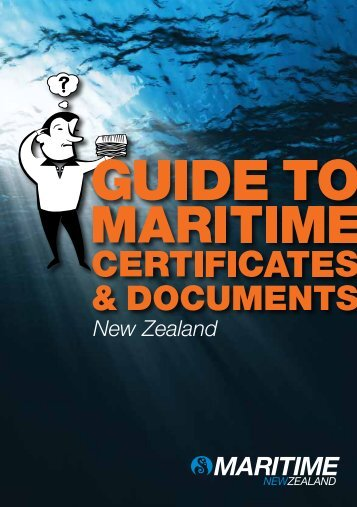 A Guide to Maritime Certificates and Documents - Maritime New ...