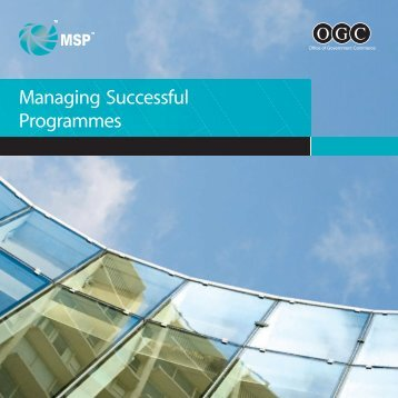 Managing Successful Programmes - Best Management Practice
