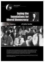 laying the liberal democracy: foundations for