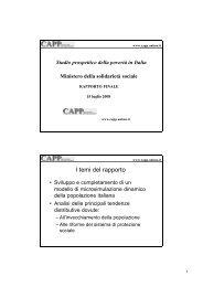 Pres capp - Centro di analisi delle politiche pubbliche