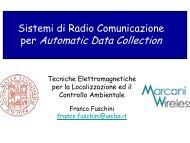 per Automatic Data Collection - Consorzio Elettra 2000