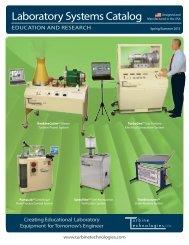 Laboratory Systems Catalog - Turbine Technologies