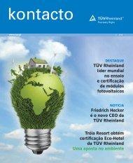 Revista Kontacto - TÜV Rheinland Portugal