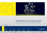 EuropolEs lIgHtIng nEws