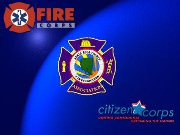 Be a Fire Corps Citizen Advocate! - Santa Rosa County