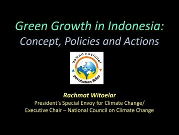 Global Green Growth New paradigm in development and ...