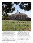 Colonial Williamsburg Museum - 2014 Summer Issue WILLIAMSBURG - Page 4
