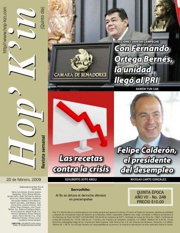 Con Fernando Ortega Bernés, la unidad llegó al PRI Las recetas ...