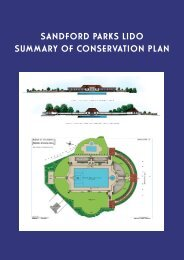 Lido Conservation Summary.pdf - Sandford Parks Lido