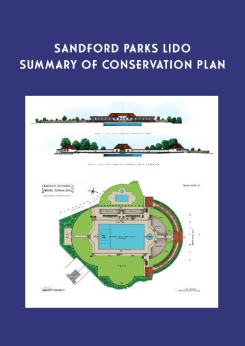Lido Conservation Summary.pdf - Sandford Parks Lido