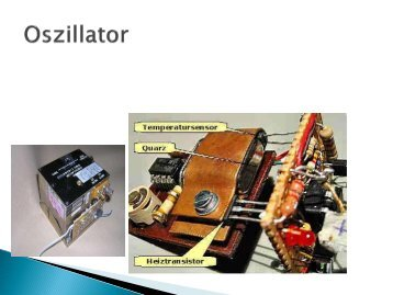 Oszillator - Projektlabor