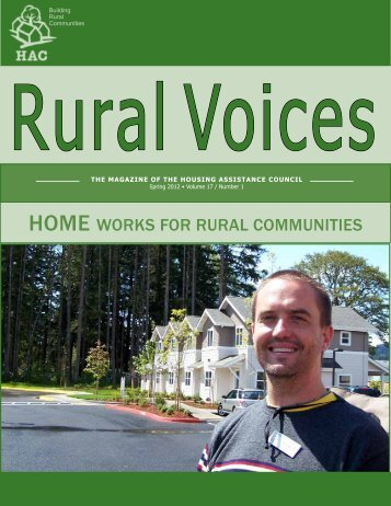 home works for rural communities - Housing Assistance Council