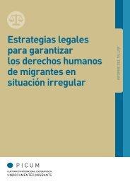Estrategias legales para garantizar los derechos humanos ... - PICUM