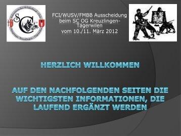 Informationen vom Veranstalter - TKGS