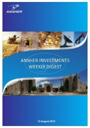 13 August 2012 - Ansher Holding Limited