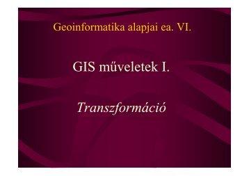 x - Természeti Földrajzi és Geoinformatikai Tanszék