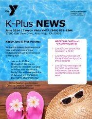 YMCA NEWS