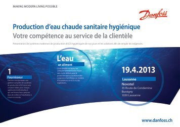 Flyer - Danfoss