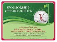 JLBR - Golf Classic Sponsorship Package 2012 - Junior League of ...