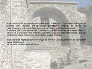 Les chantiers de restauration de monuments historiques, à quelque ...