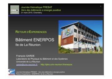 "Bâtiment ""Enerpos"", Ile de La Réunion, François Garde - Prebat"