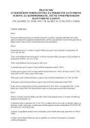 pravilnik o tehničkim normativima za pokretne ... - Thermo Dragons