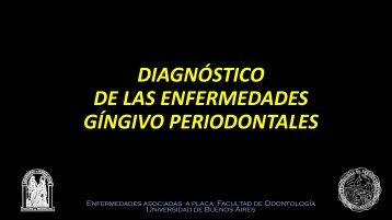 diagnóstico de las enfermedades gíngivo periodontales