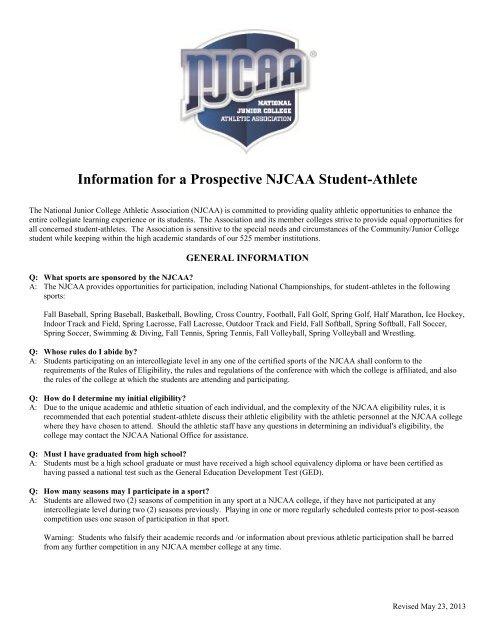 letter of intentscholarship agreement njcaa