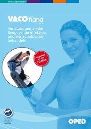 Verletzungen an der Beugesehne effektiver und ... - VACO®hand