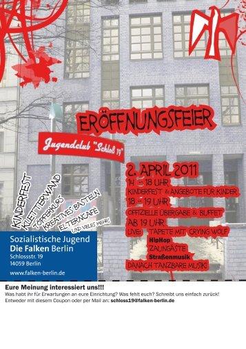 Eröffnungsfeier - Falken Berlin