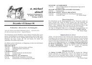 Dezember 2005 - Januar 2006 - Katholische Kirchengemeinde St ...