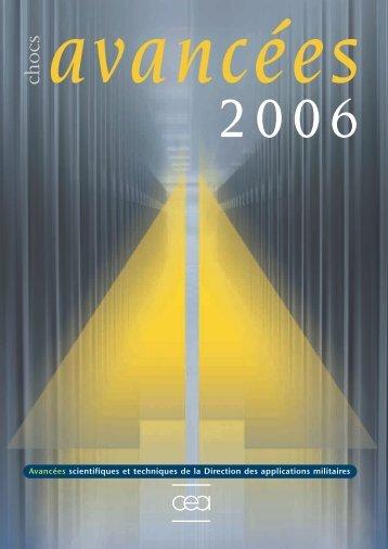 Chocs Avancées 2006 - Physique/Chimie - CEA