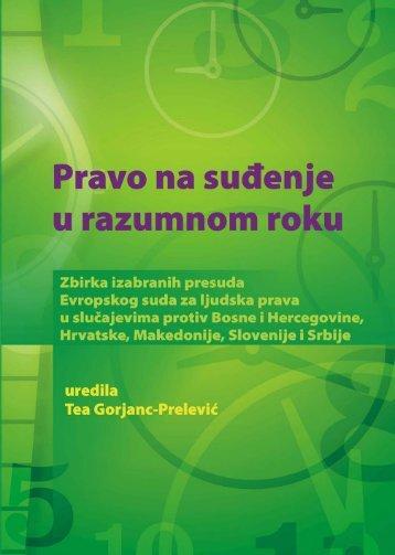 Presude osnova.qxd - Centar za ljudska prava Univerziteta u Sarajevu