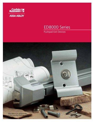 ED8000 Series - Corbin Russwin