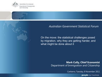 On the move - National Statistical Service