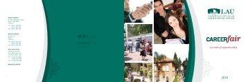 CAREERfair - LAU Publications - Lebanese American University