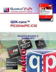 QDK-nano PIC24/dsPIC-C30 - Quantum Leaps