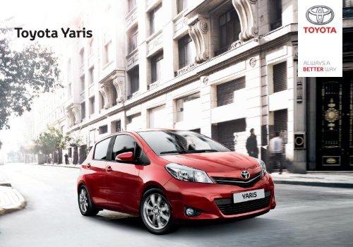 brosura NG Yaris 2012.indd - Toyota