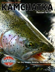 KAMCHATKA Russian Far East - Tailwaters Fly Fishing Co.