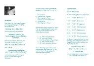 Fachtagung am 6. März 2004 - Institut für Psychoanalyse der DPG ...