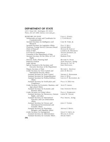 DEPARTMENT OF STATE [PDF - U.S. Government Printing Office