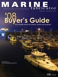 Marine Fabricator, Nov/Dec Buyers Guide 2007, Digital Edition