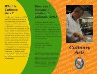 Culinary Arts - Charles County Public Schools